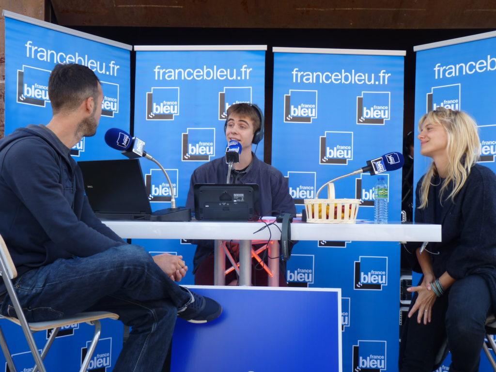 Interview France Bleu, émission spéciale sur les initiatives locales avec Mélanie Laurent