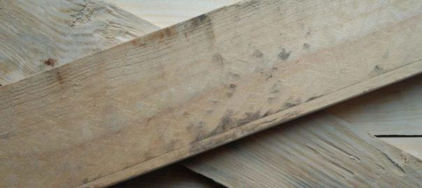 Planches brut avant préparation