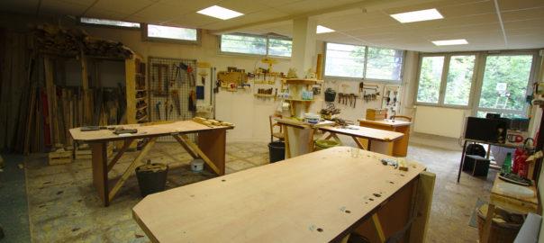 Photo de l'atelier bois