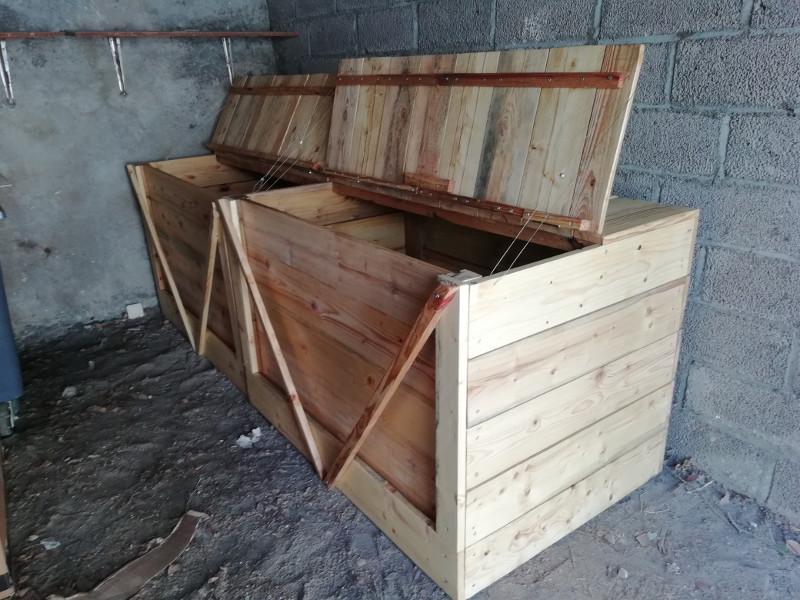 Atelier Bois Coopératif : Bacs à compost