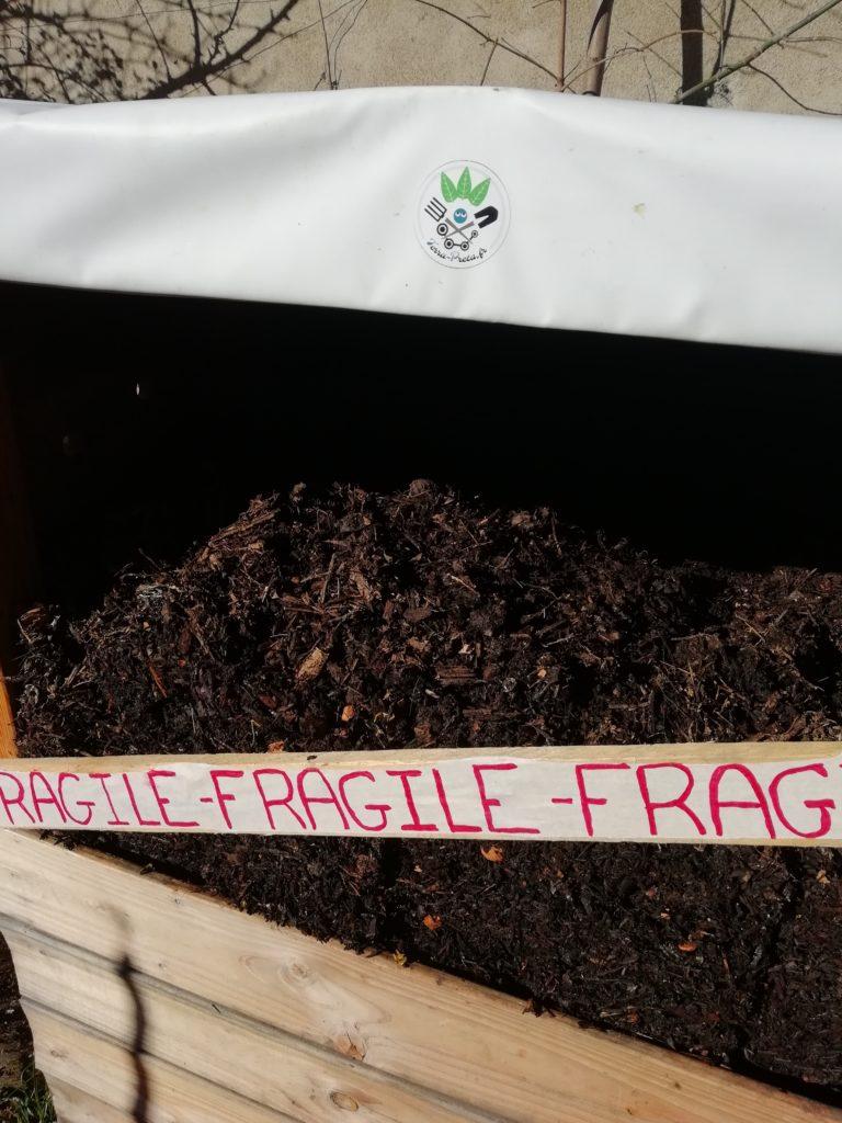 Déménagement du compost