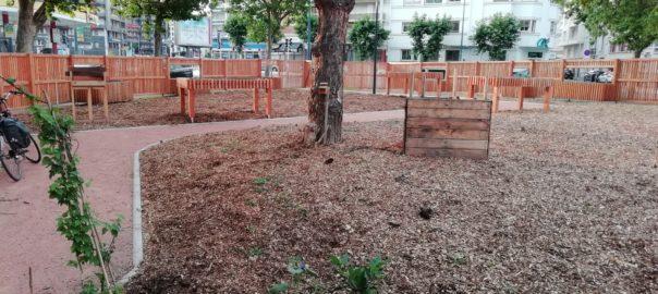 Archipel des Salins vue sur le jardin